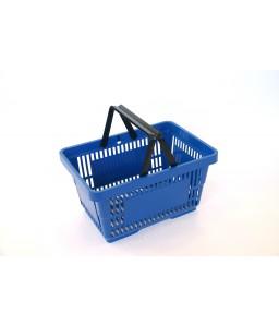 Winkelmand 22 liter blauw
