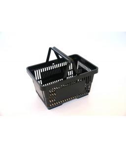 Winkelmand 22 liter zwart