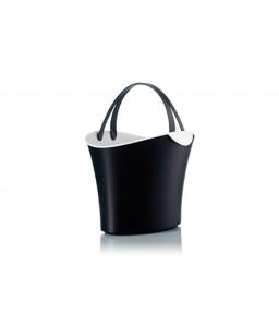 Shophie 15 liter zwart-wit