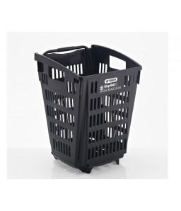 Shop & Roll 52 liter zwart gerecycled