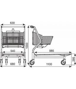 Transportwagen Vario 110S