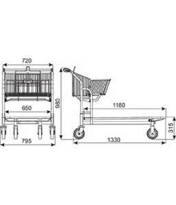 Transportwagen Vario 120S